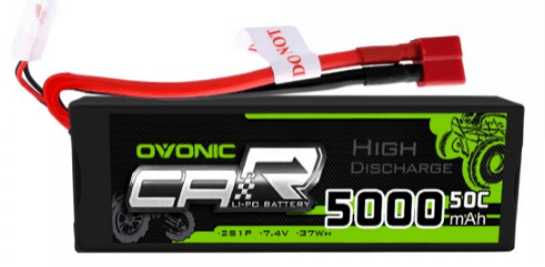 Ovonic 5200mah 2s 50c lipo battery