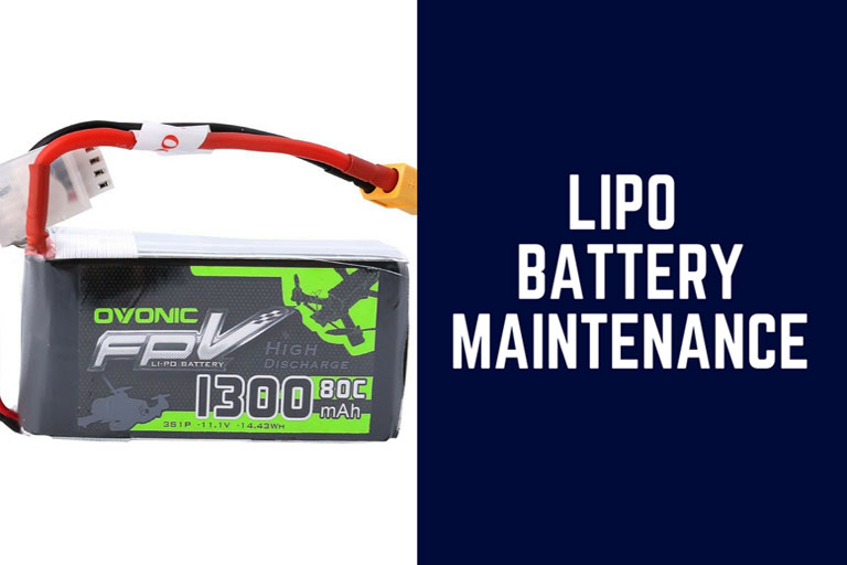Lipo Battery Maintenance: Understand In A Glance [Infographic]