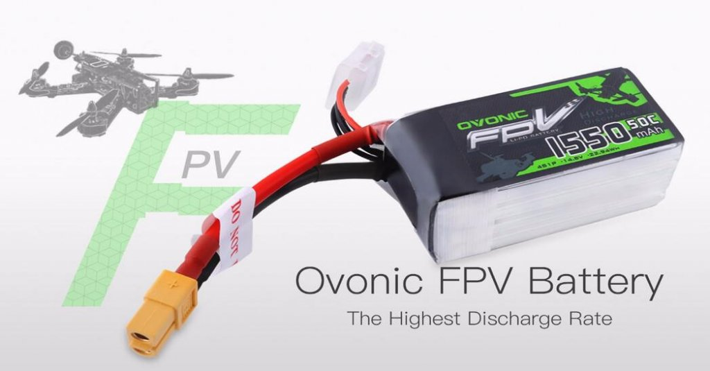 Ovonic fpv battery
