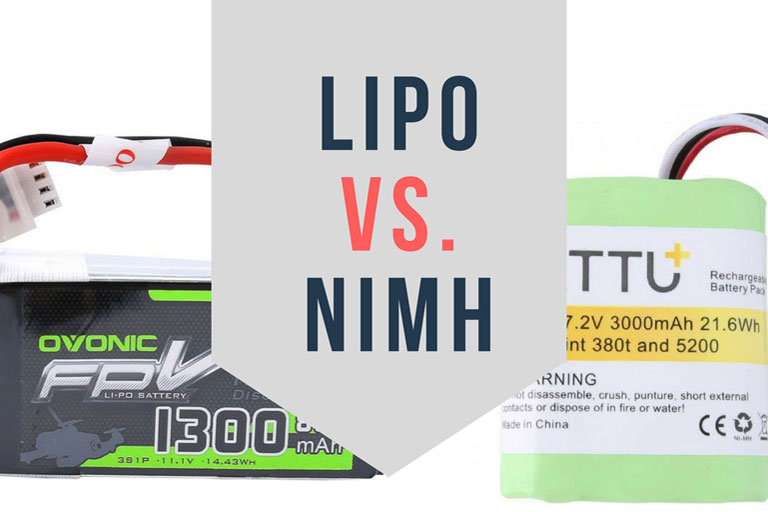 LiPo vs NiMH: Comparison of Two Most Popular Battery Type on The Market