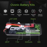 Ovonic RC car lipo battery