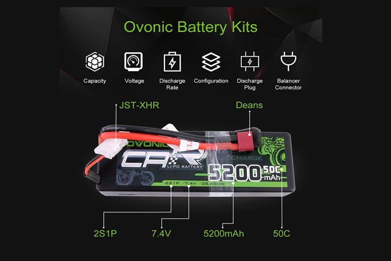 Ovonic RC Car Lipo Battery and Some Guide Tips