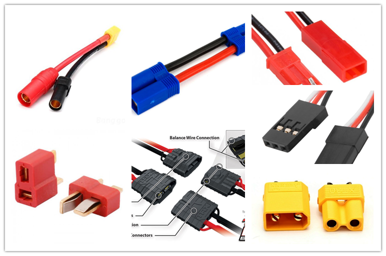 Know About the Details of 16 RC Battery Connector Types