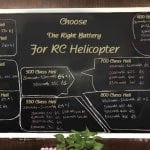 RC Helicopter Battery Voltage Matching Chart