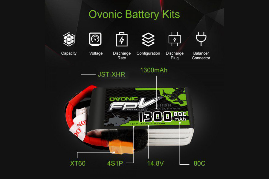 Ovonic Battery Review: Lighter than others lipo