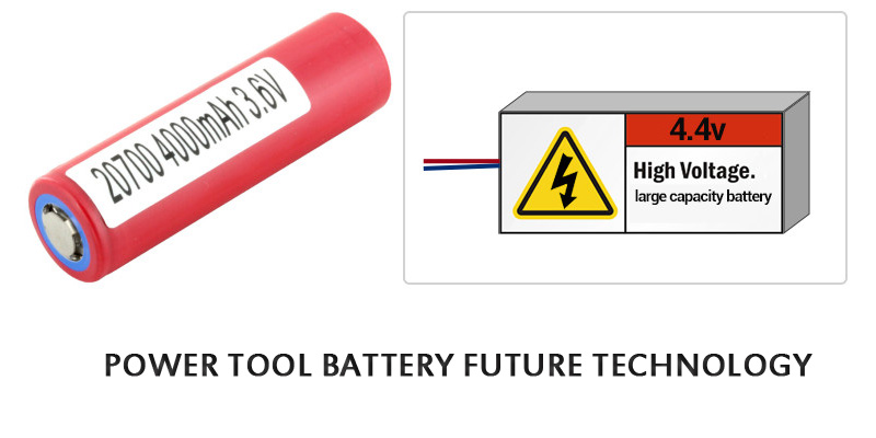 POWER TOOL BATTERY FUTURE TECHNOLOGY