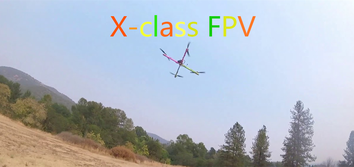 FPV X-class Racing: How to build an X class drone (Part lists)?