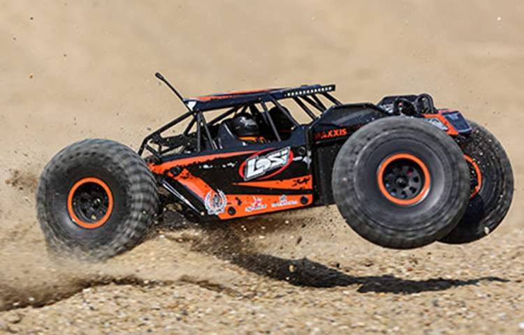 Losi 1/10 Rock Rey Rock Racer Review