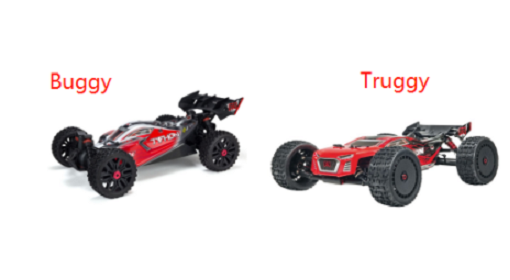 Truggy and Buggy, what's the difference and same