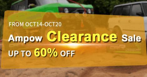 Ampow Clearance Sale of lipos onUSA and EU