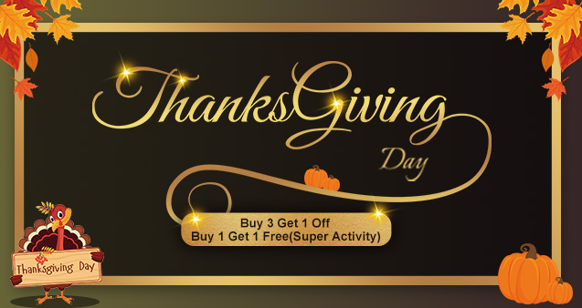 Ovonic LiPos Thanksgiving Day deal and the coming Black Friday & Cyber Monday promotion