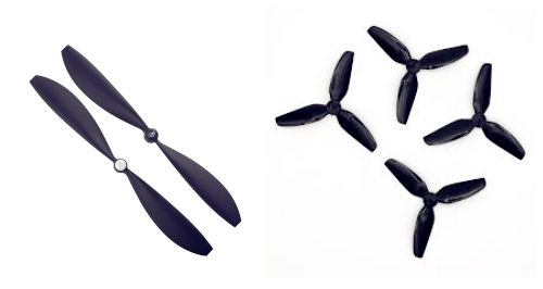 How to choose propeller for quad
