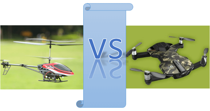 Quadcopter vs Helicopter