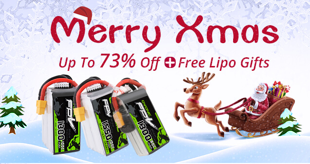 Ovonic Christmas lipo deals, big discounts and free lipo gift