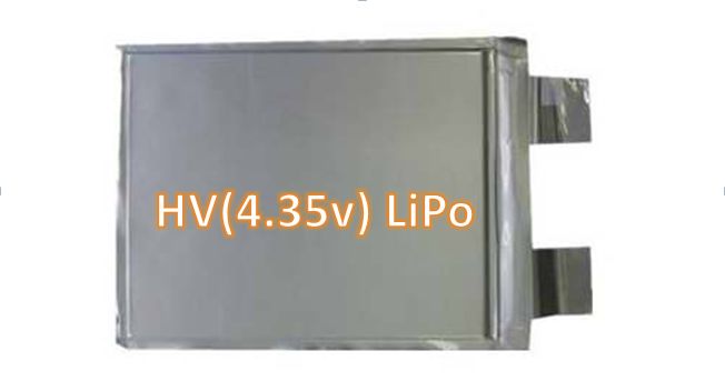 What is high voltage lipo (LiHV 4.35V) and its advantage?