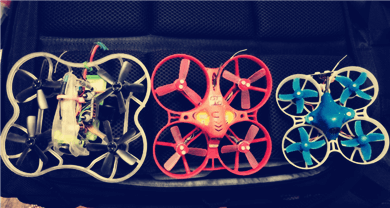 What is tiny whoop and what batteries fit ?