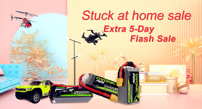 Ampow stuck at home sale and 5-day flash sale