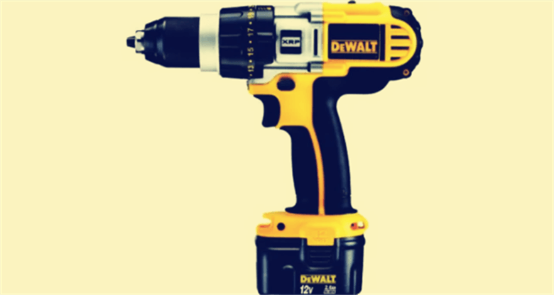 Different battery types for cordless electric drills