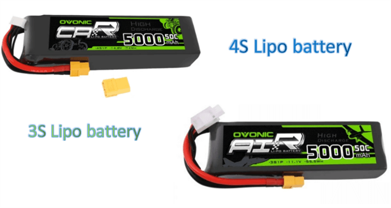 3s vs 4s lipo battery, which one should be chosen