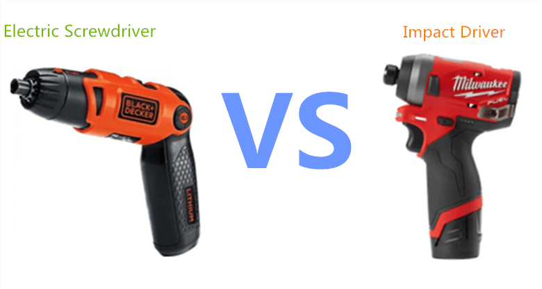 Electric Screwdriver vs Impact Driver, consider something before choosing