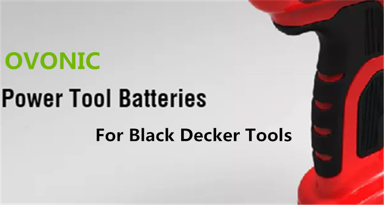 Ovonic NiMH replacement battery for Black Decker power tool