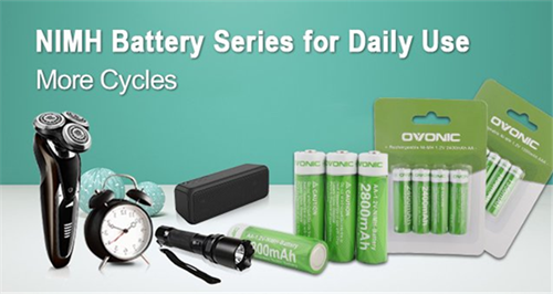 Ovonic New Arrival – NiMH batteries for daily use