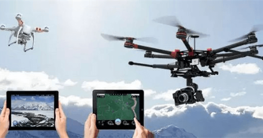 The application areas of UAV drones