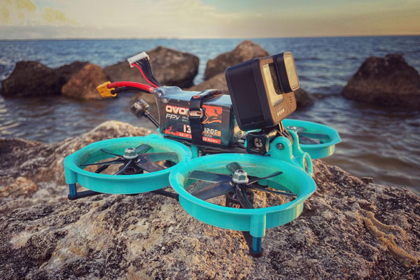 When does the FPV drone need to land?